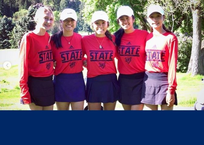 Lancer Golf Competes at State