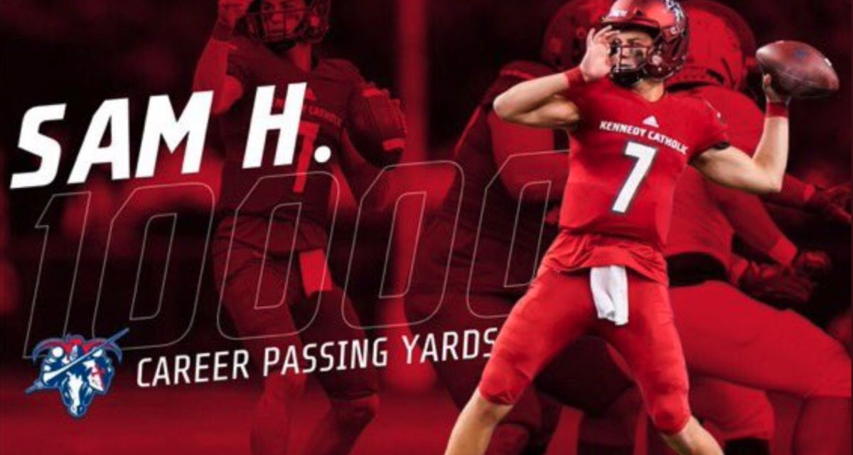 Sam H. Reaches 10,000 Passing Yards