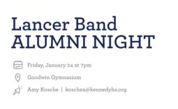 Call All Lancer Band Alumni!
