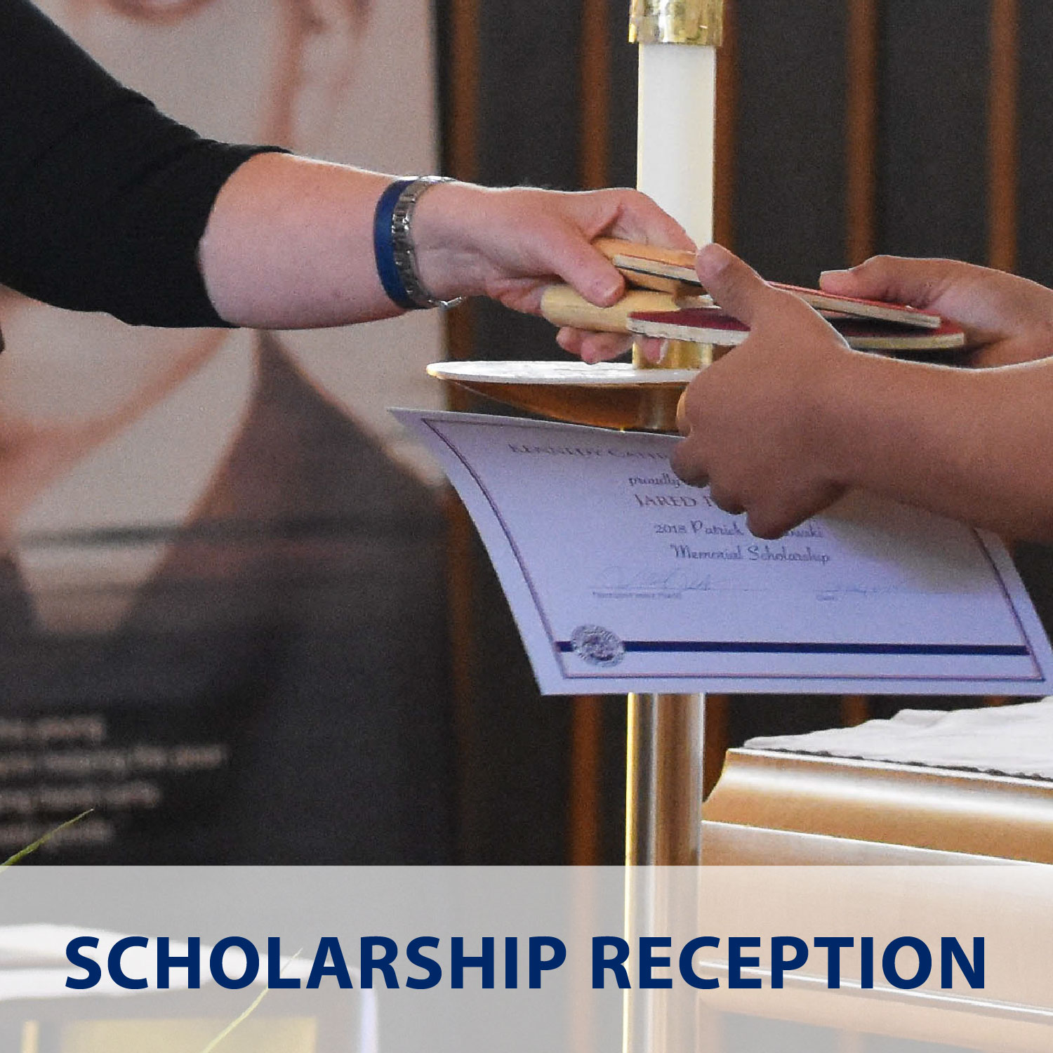Scholarship Reception